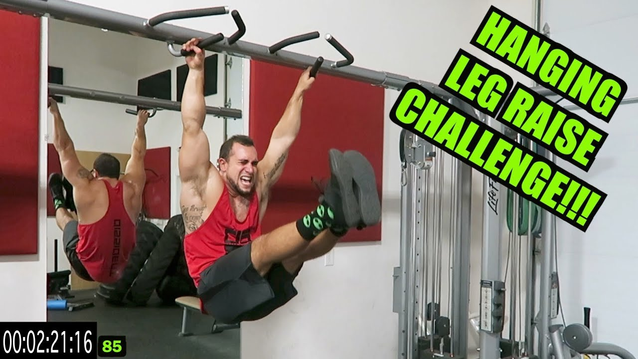 The 100 Hanging Leg Raise Challenge | AB ANNIHILATION!