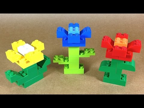 How To Build Lego Flowers 4630 Lego Build Play Box Bui