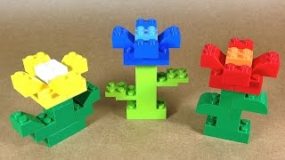 How To Build Lego Flowers - 4630 Lego® Build & Play Box Building Instructions For Kids