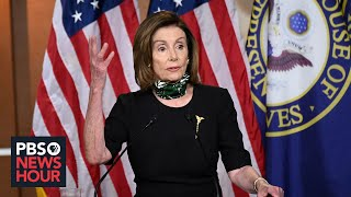 Pelosi says 'Grim Reaper' McConnell delaying lifesaving pandemic aid