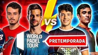 LIMA - TAPIA vs J.RICO - MOMO *WORLD PADEL TOUR 2021 PRETEMPORADA* - el4Set
