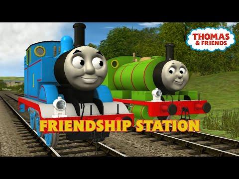 Friendship Station 🎵 | Thomas & Friends | Trainz Music Video