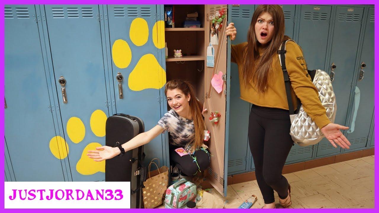 Download What's In My School Locker? End Of Year Messy Locker Cleanout / JustJordan33