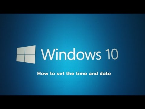 how-to-set-the-time-and-date-within-windows-10