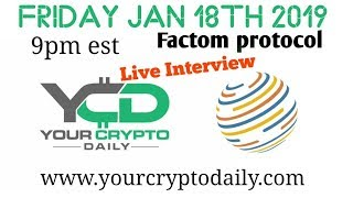 Factom Protocol Live ! Q&A What is the Factom® protocol?