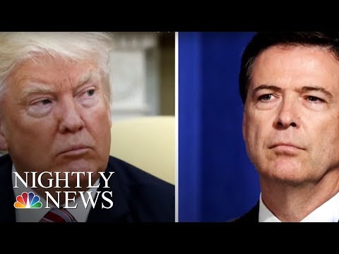 President Donald Trump Hits At Comey In Sunday Tweets | NBC Nightly News