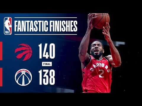The Raptors and Wizards Engage in a Fantastic Finish | January 13, 2019