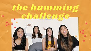 The Humming Challenge w my Sisters 👯 | Aashna Hegde
