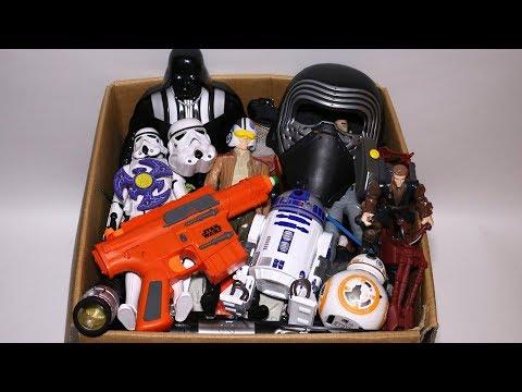 Toy Box Star Wars Mashers, Cars, Kinder Joy, Darth Vader, Stormtrooper, Action Figures and More