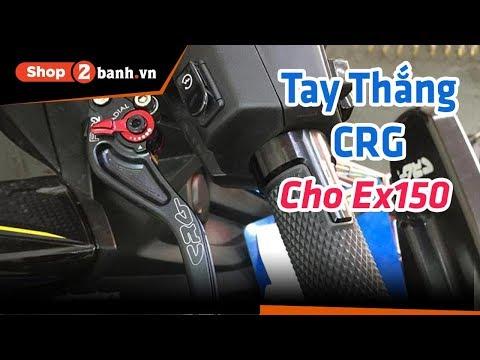 Combo tay thắng CRG RC2 + bao tay nhôm RCB cực đẹp cho Exciter 150   Shop2banh