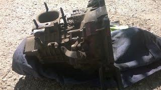 Ремонт коробки F5M22 Mitsubishi Galant 1.8 - Часть 1 - Разборка(, 2016-04-25T04:53:04.000Z)