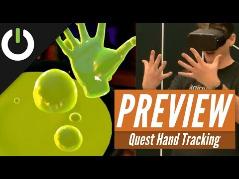 Oculus Quest Hand-Tracking Impressions: Oculus Connect 6 Preview
