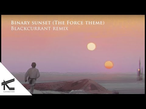 Binary Sunset (The Force Theme ) - Blackcurrant Remix