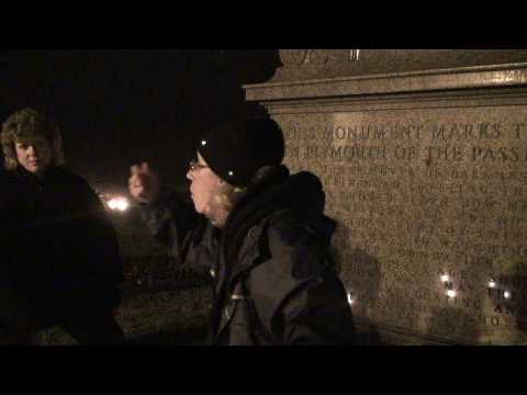 Dead of Night Ghost Tours in Plymouth, MA filmed by Scott Fisher