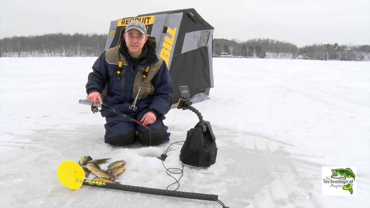ice fishing tips | aqua-vu micro camera | humminbird helix | the, Fish Finder
