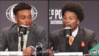 ERROL SPENCE VS SHAWN PORTER - FULL HEATED FINAL PRESS CONFERENCE & FACE OFF VIDEO