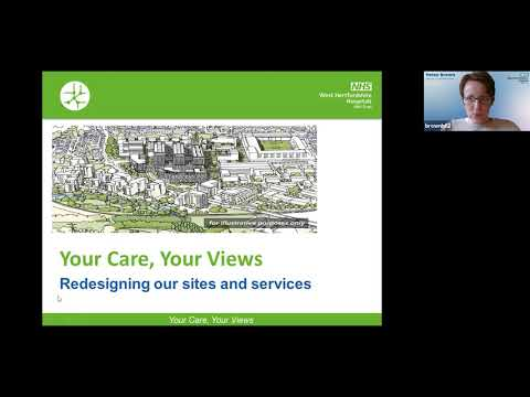 Your Care Your Views - Redesigning Our Sites And Services - 24 May 2021