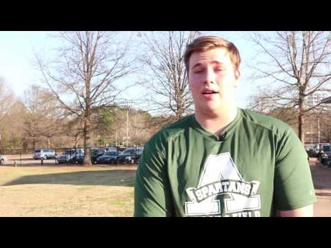 Athens Academy Varsity Track & Field Feb. 2017: Demo Reel