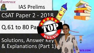 IAS Prelims CSAT Paper II