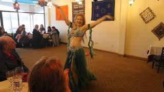 Belly dancer Liz Leyla Oriental Routine - Cairo