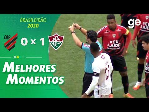 ATHLETICO-PR 0 X 1 FLUMINENSE | MELHORES MOMENTOS | 5ª RODADA BRASILEIRÃO 2020 | ge.globo