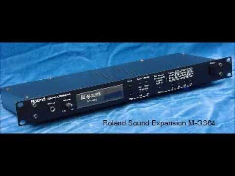 Comparison of five MIDI sound modules (complete band 2)