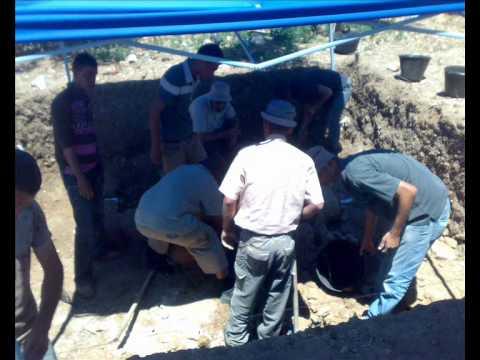 جامعة الخليل-حفرية قسم الآثار-الحرايق