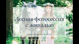 Свадьба с лошадями — свадебная фотосессия