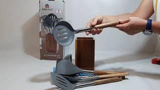 Набор кухонных принадлежностей 7пр KingHoff KH1325 - обзор в Videlka.com.ua