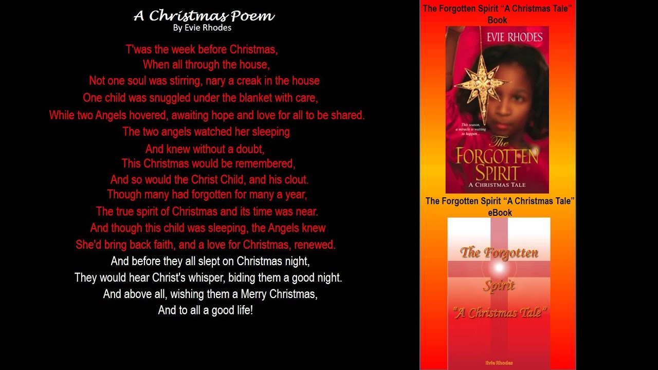 A christmas poem by evie rhodes youtube a christmas poem by evie rhodes fandeluxe PDF