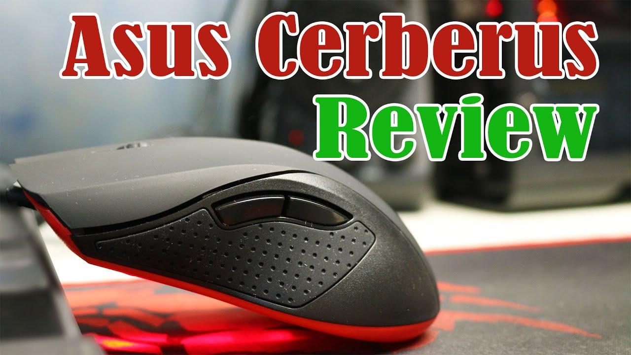 Review Asus Cerberus مراجعة  الفأرة