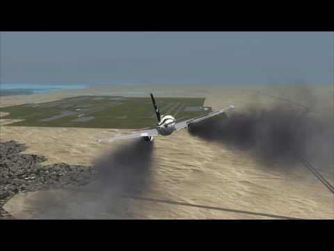 Plane Crash Jeddah Airport PIA A310