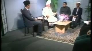 Liqa Ma'al Arab 18th September 1996 Question/Answer English/Arabic Islam Ahmadiyya