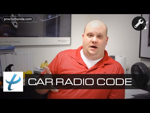 How To Fix Car Radio Code - Car Radio Repair - Anti-Theft System