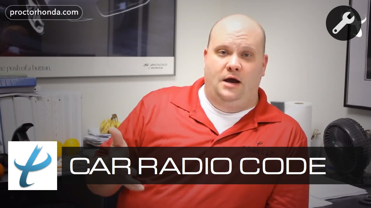 How To Fix Car Radio Code Repair Anti Theft System 2004 Cadillac Bose Wiring Harness Youtube
