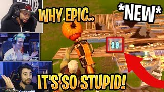 Streamers HATE *NEW* Damage Through Walls Update! - Fortnite Best and Funny Moments