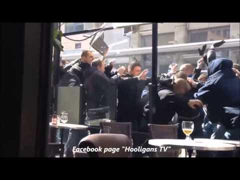 Hooligans, bagarre générale PSG-Lille