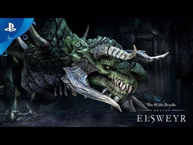 The Elder Scrolls Online: Elsweyr - Gameplay Launch Trailer | PS4