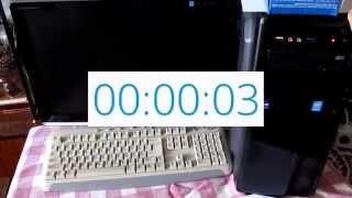 Скорость загрузки ПК на SSD Kingston 240 Gb