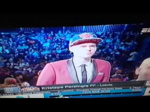 Kristaps Porzingis NY Knicks NBA Draft 1st Rnd Pick - WTF?