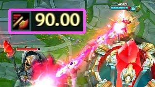 Video 90.00 ATTACK SPEED JINX! Maximum Attack Speed in League of Legends! download MP3, 3GP, MP4, WEBM, AVI, FLV Oktober 2018
