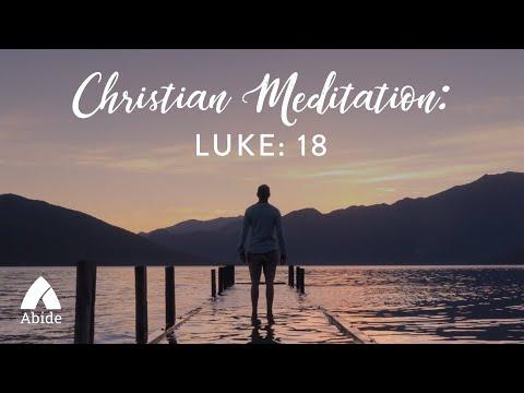 Sleep in Peace: Jesus Prayer from Luke 18