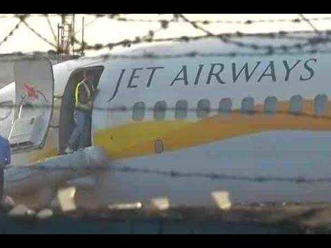 Panaji: Mumbai bound Jet Airways flight 9W 2374 skids off runway at Dabolim airport