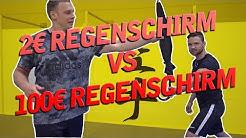 SICHERHEITSSCHIRM VS REGENSCHIRM | TURBO TEST