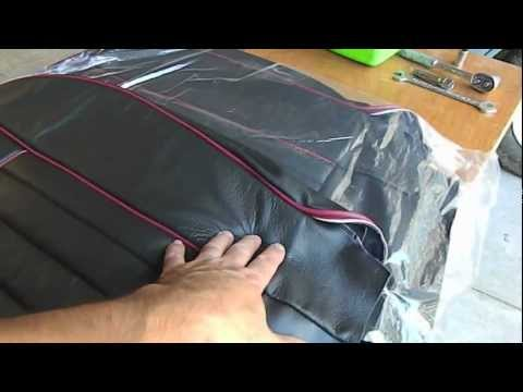 Mgb Seat Cover And Carpet Replacement Part 1 Youtube