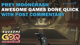 Prey Mooncrash Speedrun from AGDQ - Post Commentary