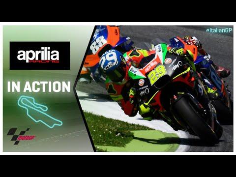 Aprilia in action: Gran Premio d'Italia Oakley