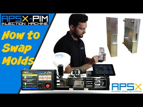 How to Swap Molds on APSX-PIM Plastic Injection Machine