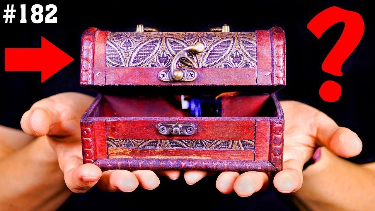 Шкатулки с секретным замком своими руками