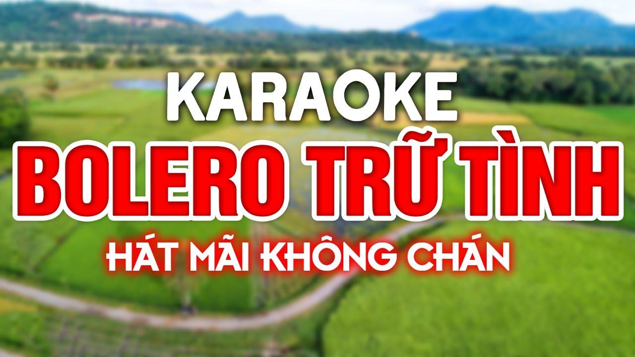 KARAOKE Liên Khúc Karaoke Nhạc Sến - Bolero - Trữ Tình Dễ Hát Nhất - Nhạc Sống Karaoke